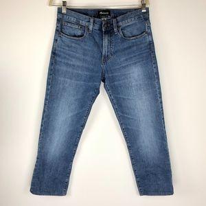 Madewell Dark Wash Slim Mom Boyfriend Style Jeans